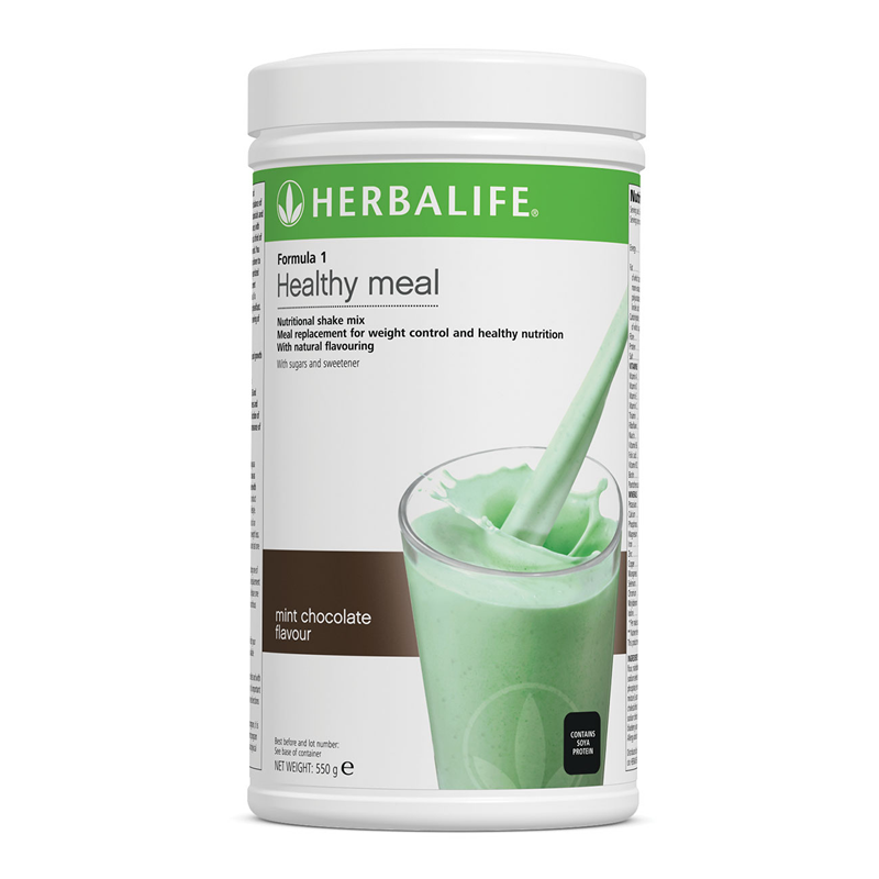 Mint Chocolate Crunch - Formula 1 Nutritional Shake Mix  550 g