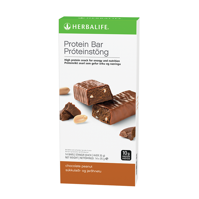 Chocolate Peanut - Protein Bars - 14 bars per box