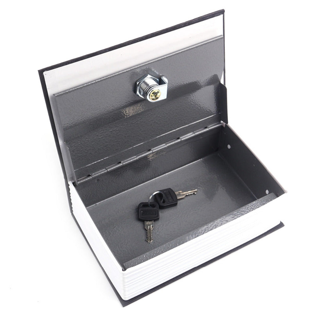 Dictionary Book Hidden Safes Case with Key Lockers