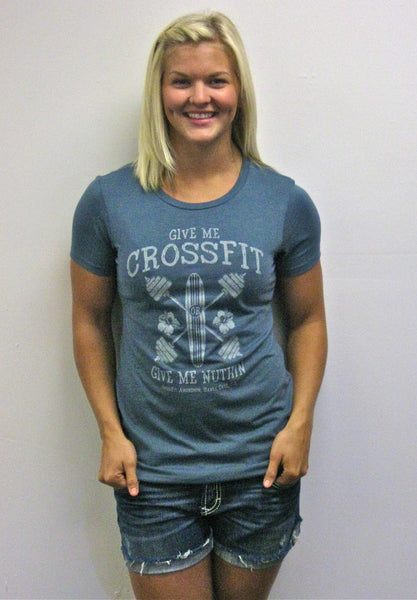 Give Me CrossFit Amundson (women's green) - SOLD OUT!