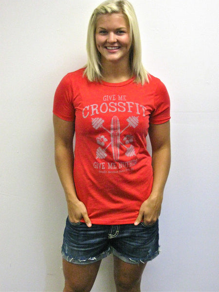 Give Me CrossFit Amundson (Women's Red) - SOLD OUT!