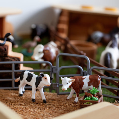 Small World Play Calves in Pen