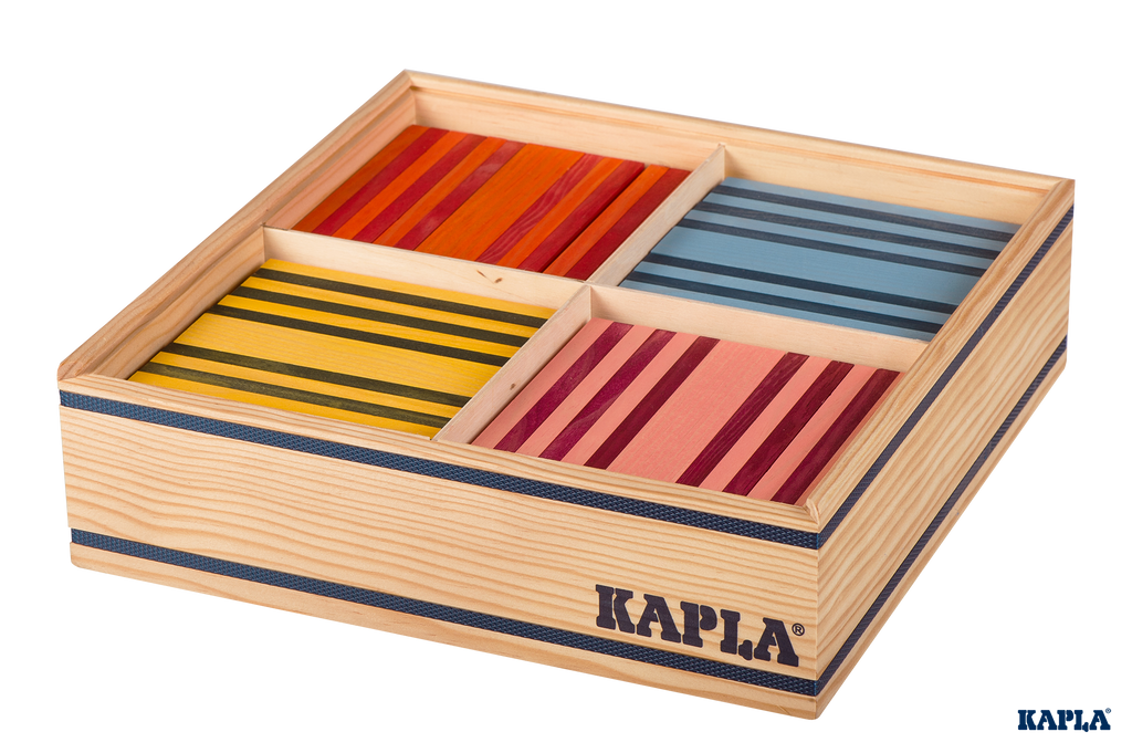 Kapla Octocolour - 100 Pieces in Box