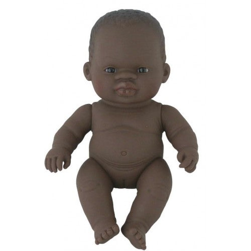 Miniland African Girl Baby - 21cm