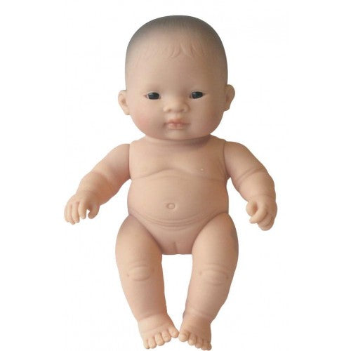 Miniland Asian Girl Baby - 21cm