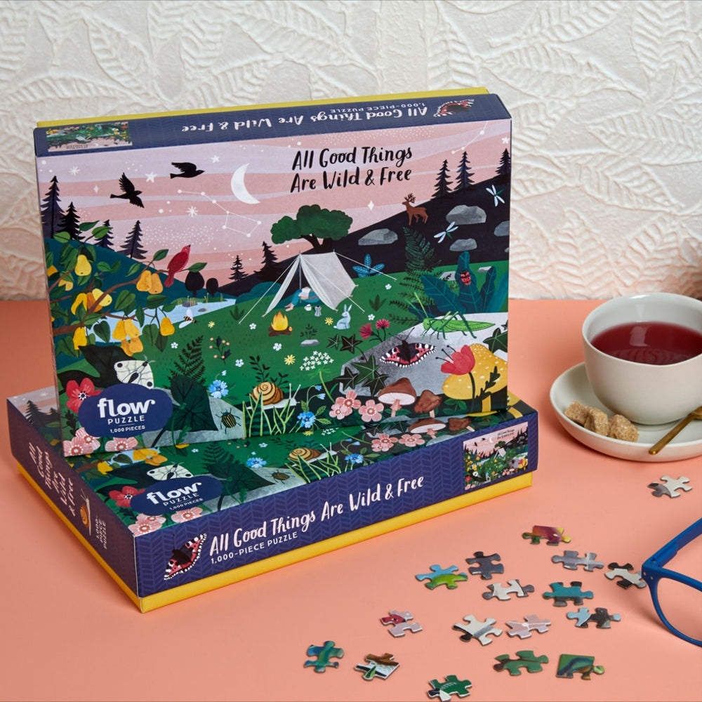 All Good Things Are Wild and Free Puzzle | 1000