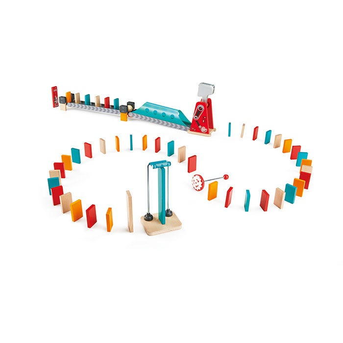 Hape Mighty Hammer Dominoes 51 Pieces