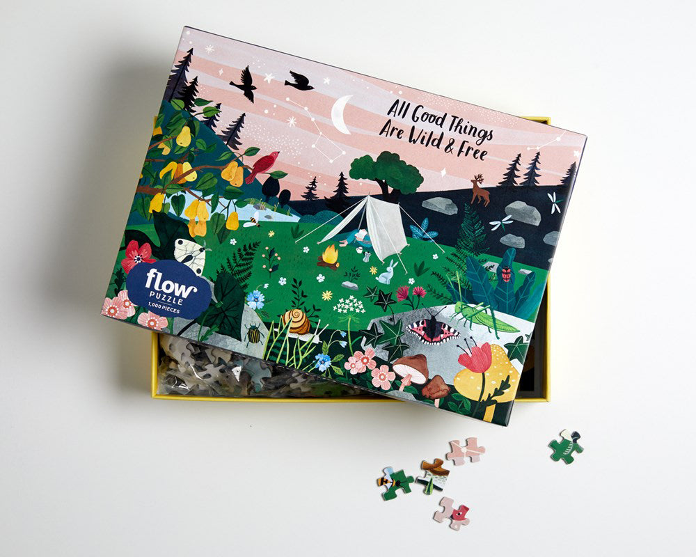 All Good Things Are Wild and Free 1000pc Puzzle