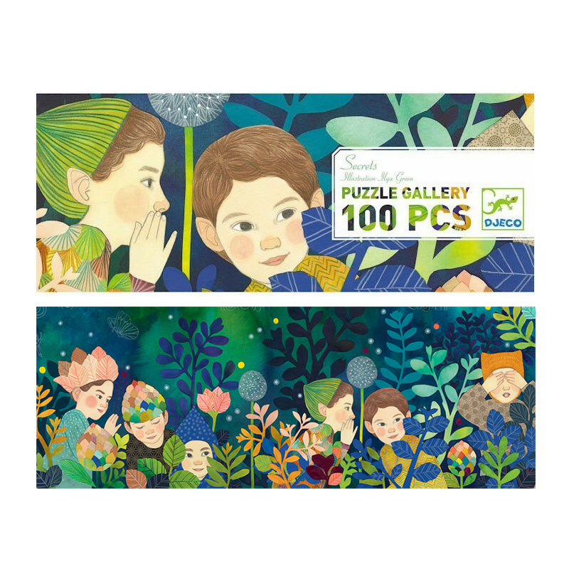 Secrets 100pc Gallery Puzzle