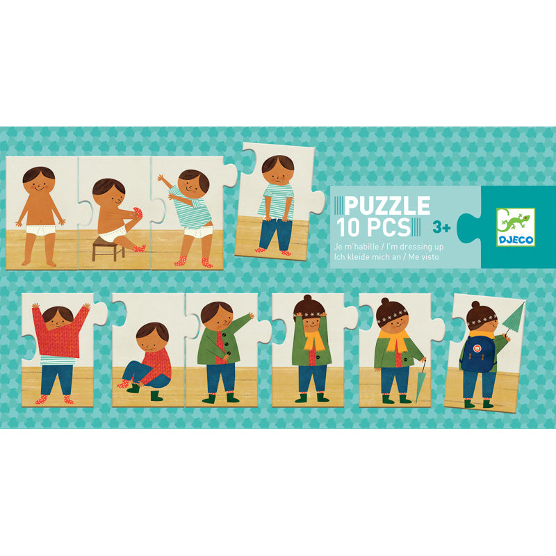 "Djeco ""I Am Dressing Up"" Puzzle"