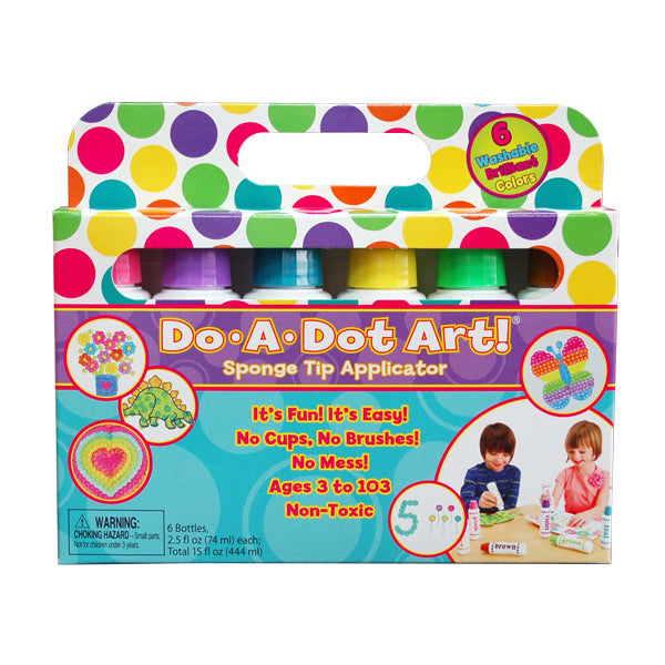 DO A DOT ART Markers - Brilliant 6 Pack