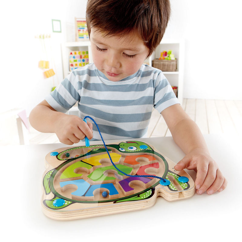 Hape Colourback Magnetic Turtle Maze