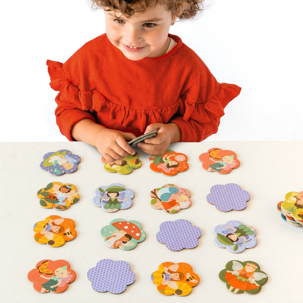 Petit Collage Memory Game Fairy Friends