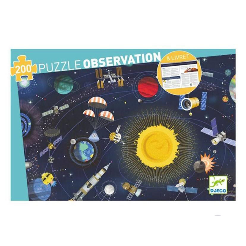 Space Observation Puzzle | 200 | Djeco