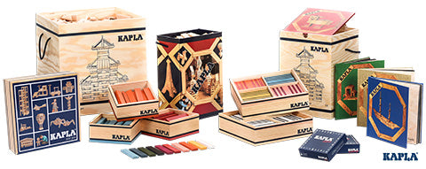 Kapla Natural - 200 Pieces in Box