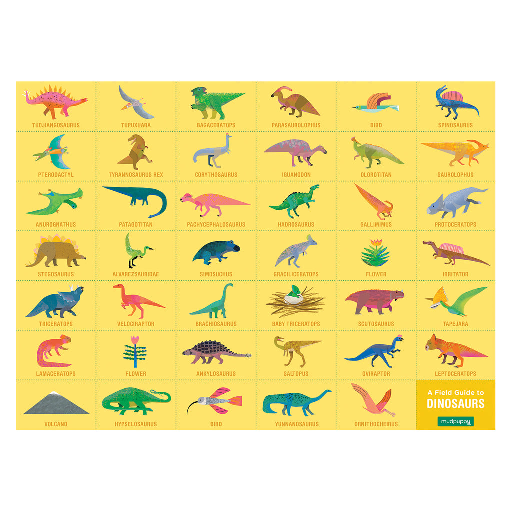 Mudpuppy Search and Find Dinosaurs Puzzle | 64