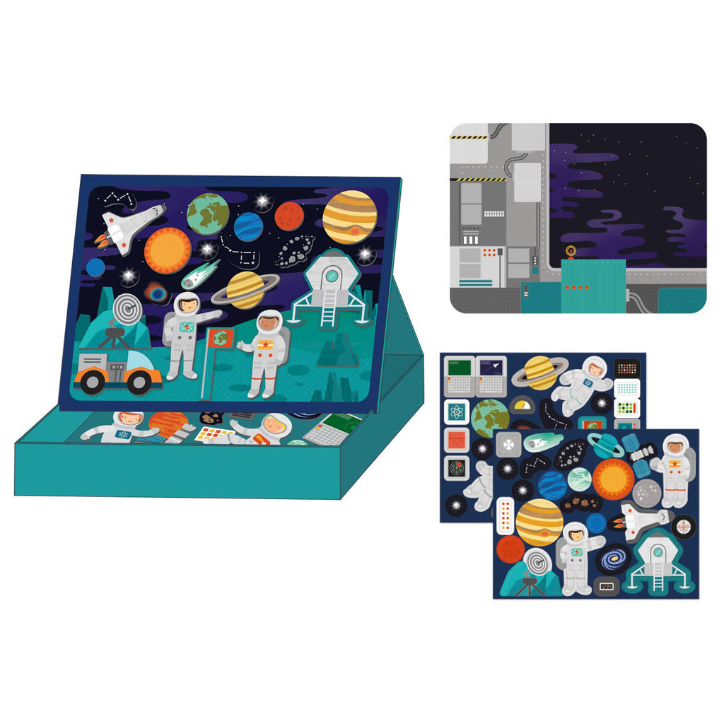 Petit Collage Magnetic Scene - Outer Space