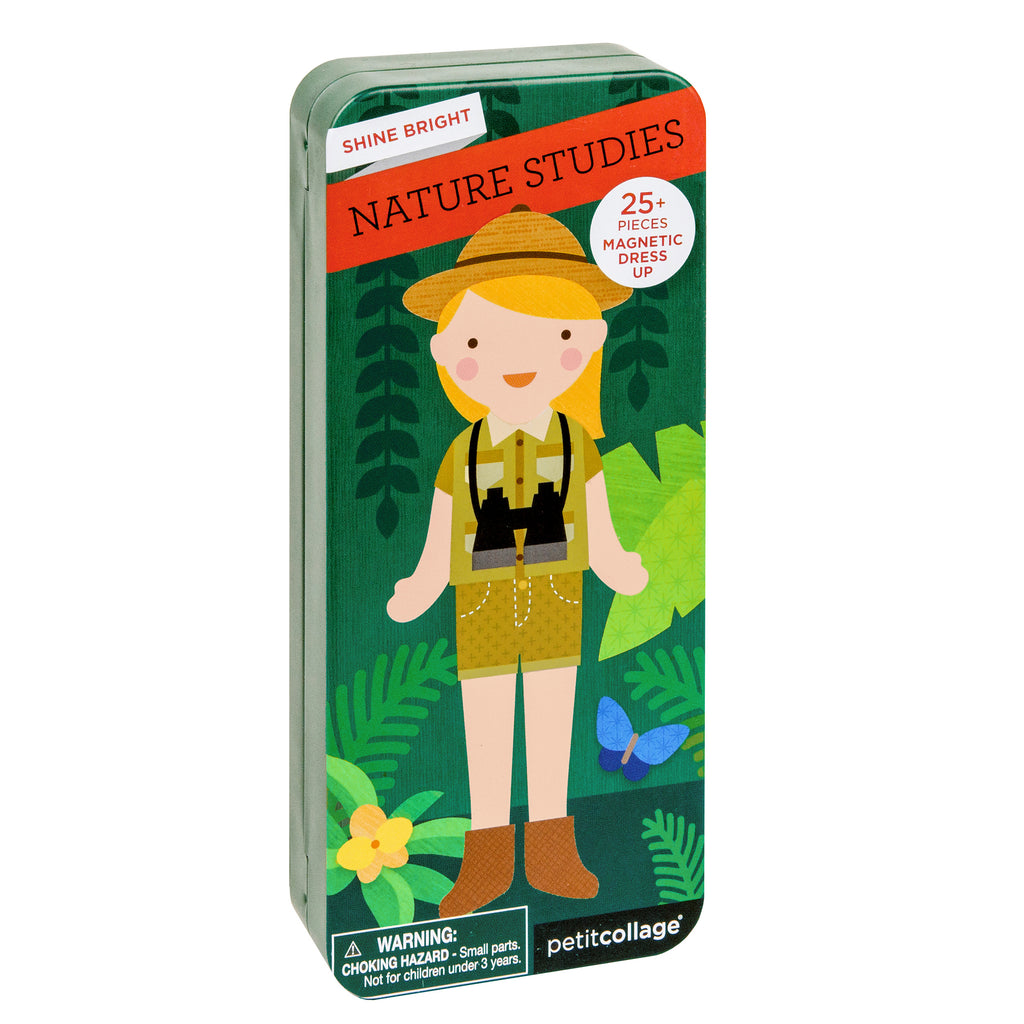 Petit Collage Shine Bright: Nature Studies Magnetic Dress Up