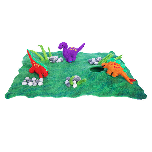 Felt Forest Floor Playscape