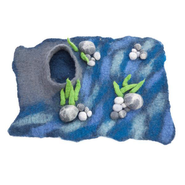 Felt Ocean Floor Playscape