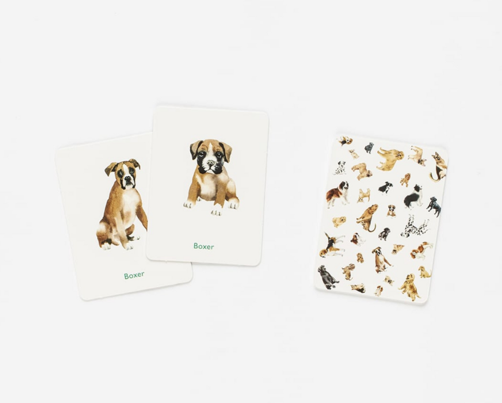 Dogs and Puppies: A Memory Game