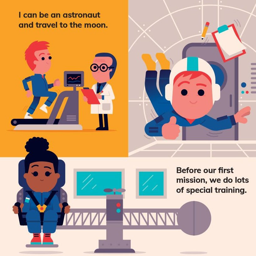 I Can Be... An Astronaut | Interactive Book