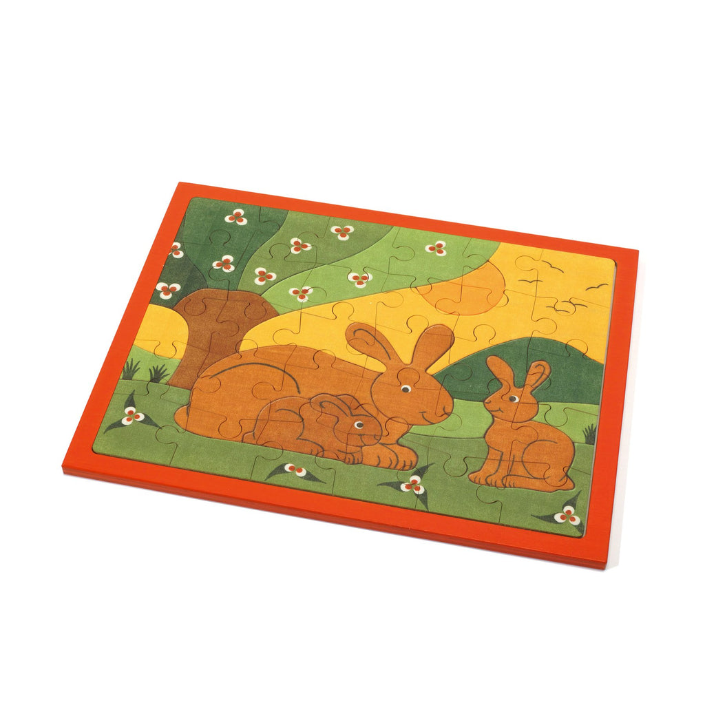 30 Piece Rabbit Puzzle - Weizenkorn