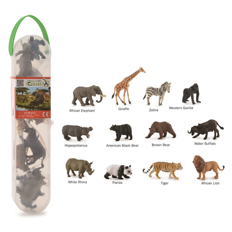 CollectA Tube - Wild Animals