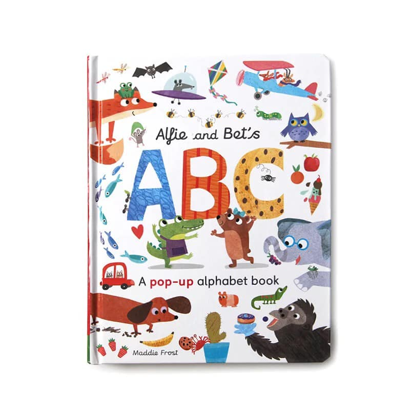 Alfie and Bet's ABC - Pop Up Alphabet