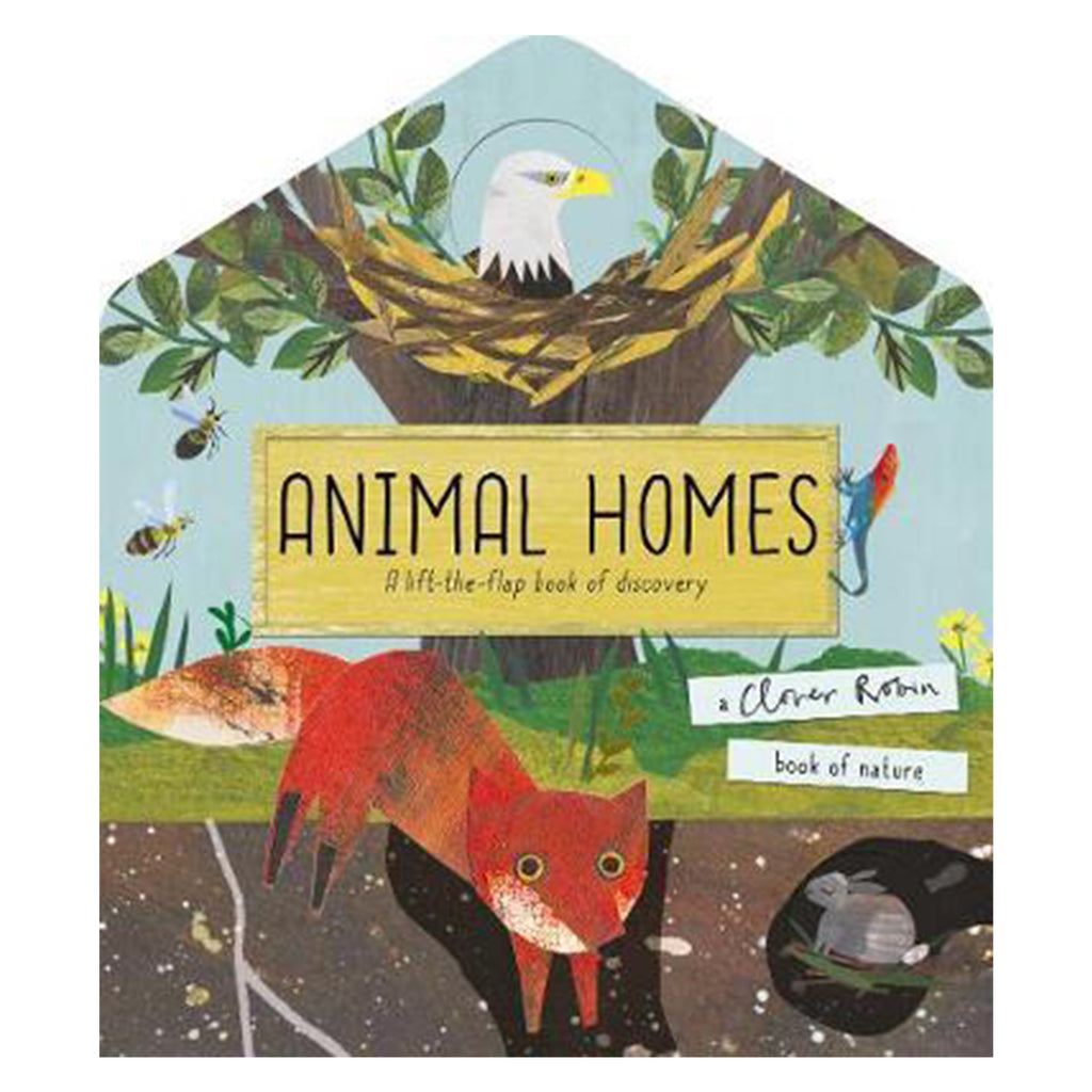 Animal Homes - Lift-the-Flap