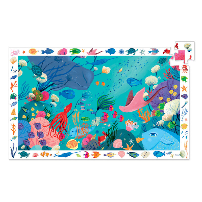 Aquatic - 54pc Observation Puzzle