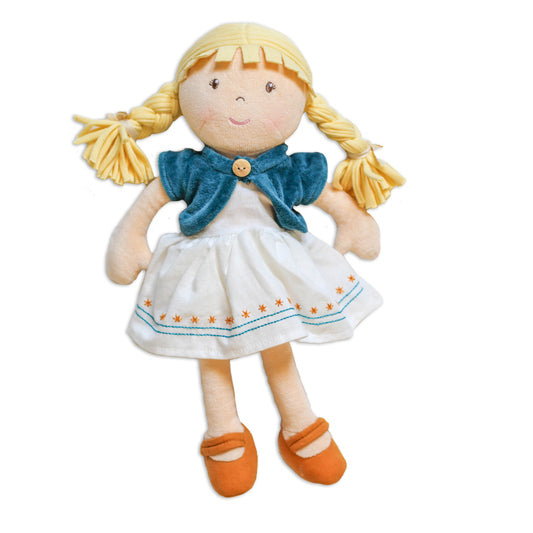 Organic Blonde Doll - Lily
