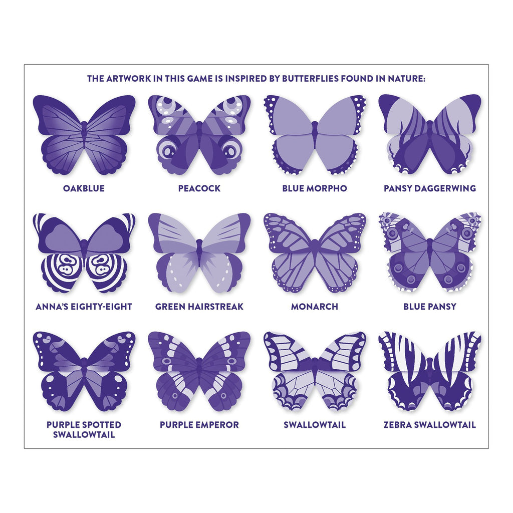 Butterflies Shaped Memory Match