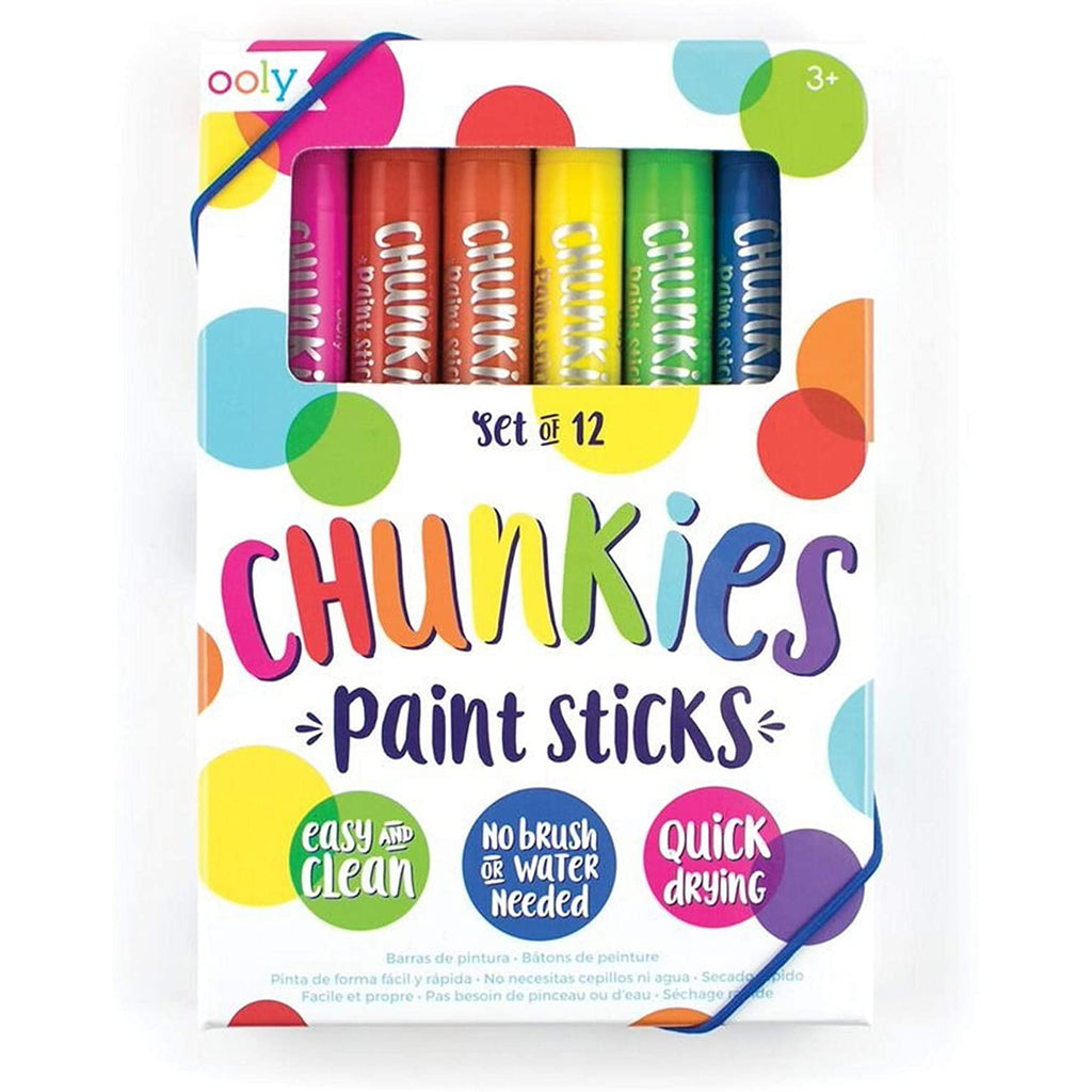 Paint Sticks Set of 12 | Chunkies