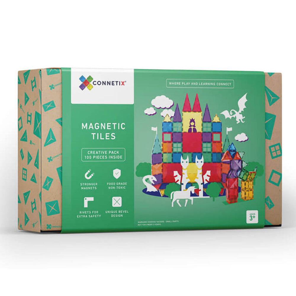 100 Piece Set | Connetix Tiles