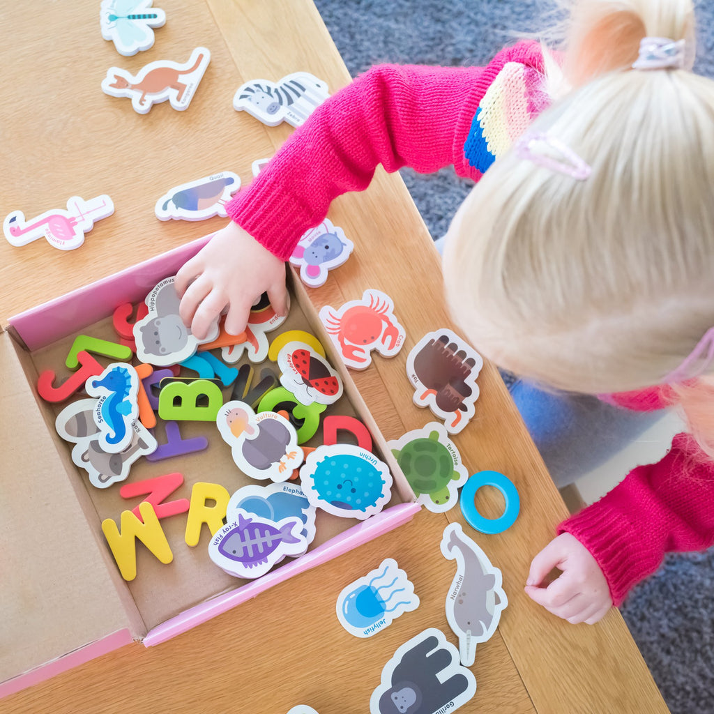 Magnetic Letters and Animals