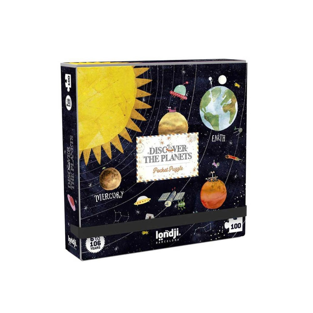 Discover the Planets | Pocket Puzzle | 100 | Londji