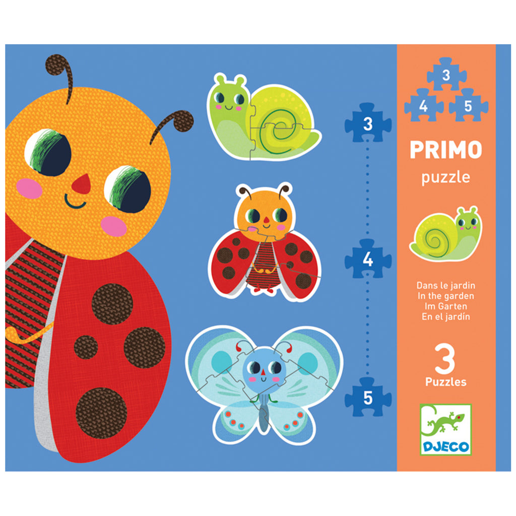 Djeco In the Garden Primo Puzzles | Progressive
