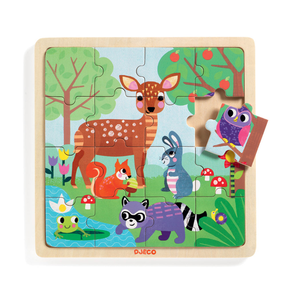 Djeco Forest Puzzle | Wooden