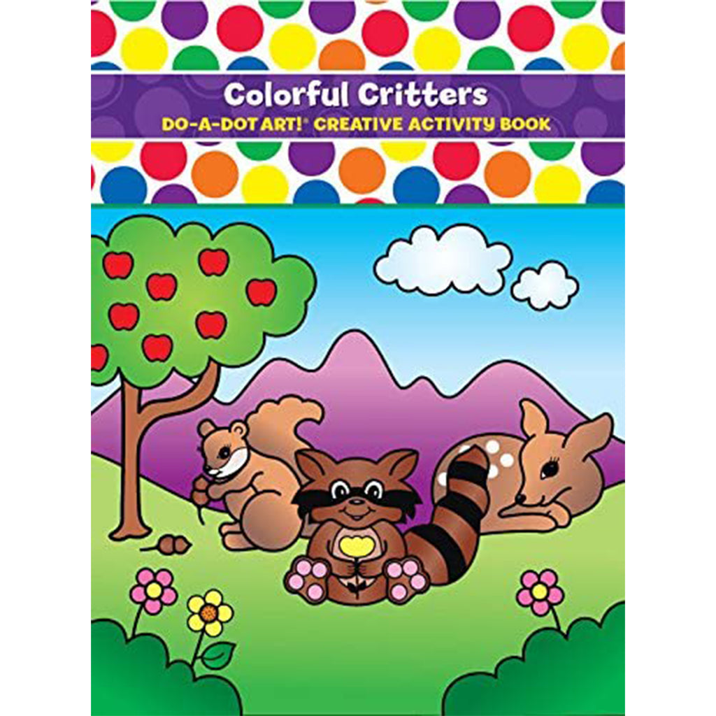 DO A DOT ART Book - Colourful Critters