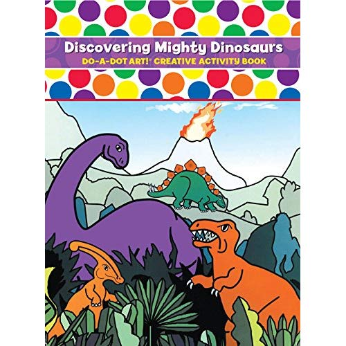 DO A DOT ART Book - Mighty Dinosaurs