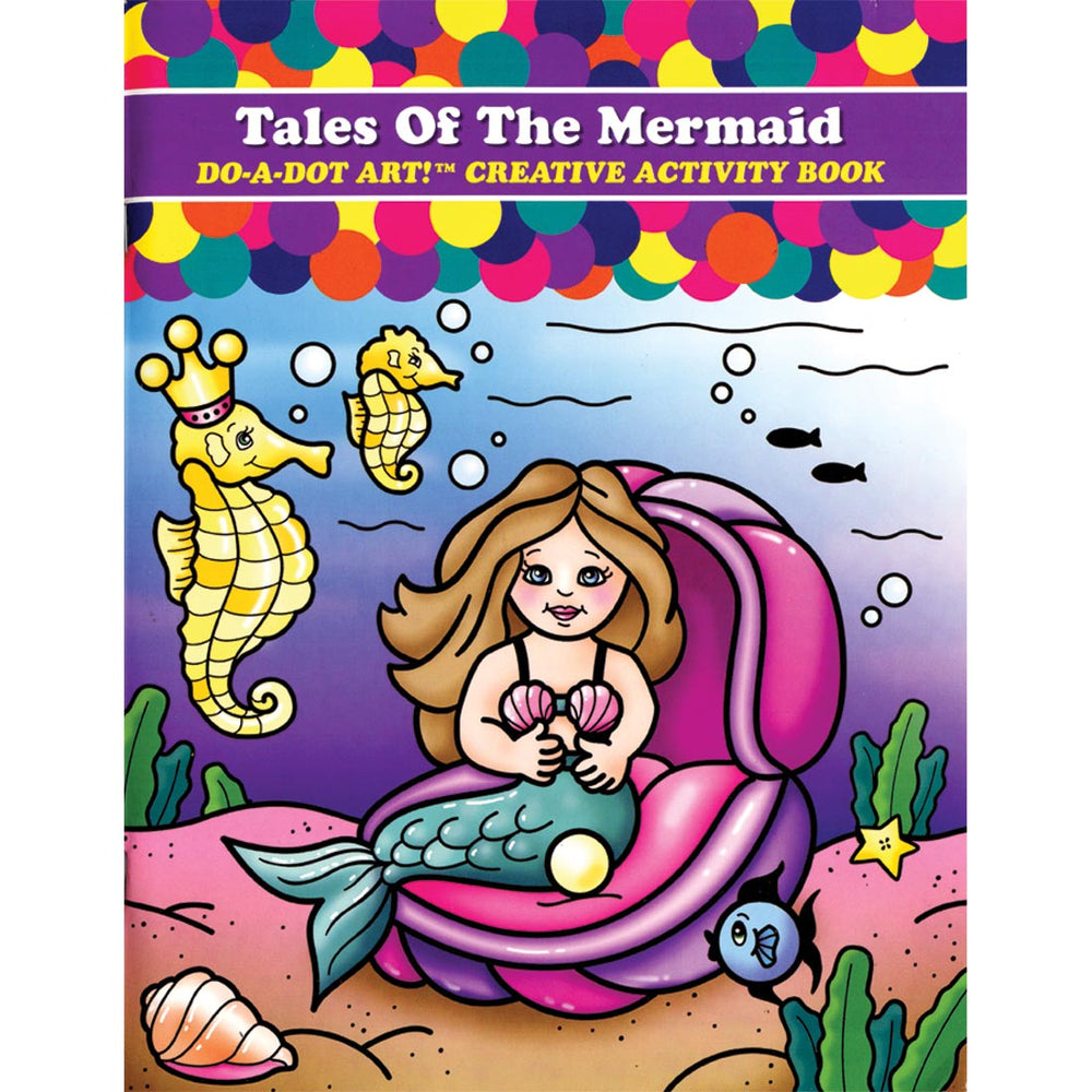 DO A DOT ART Book - Tales of the Mermaids