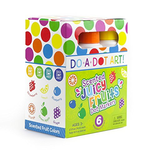 DO A DOT ART Scented Markers - Juicy Fruit 6 Pack