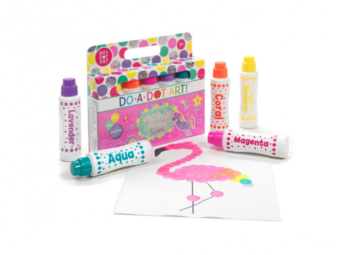 DO A DOT ART Markers | Bright Shimmer 5 Pack