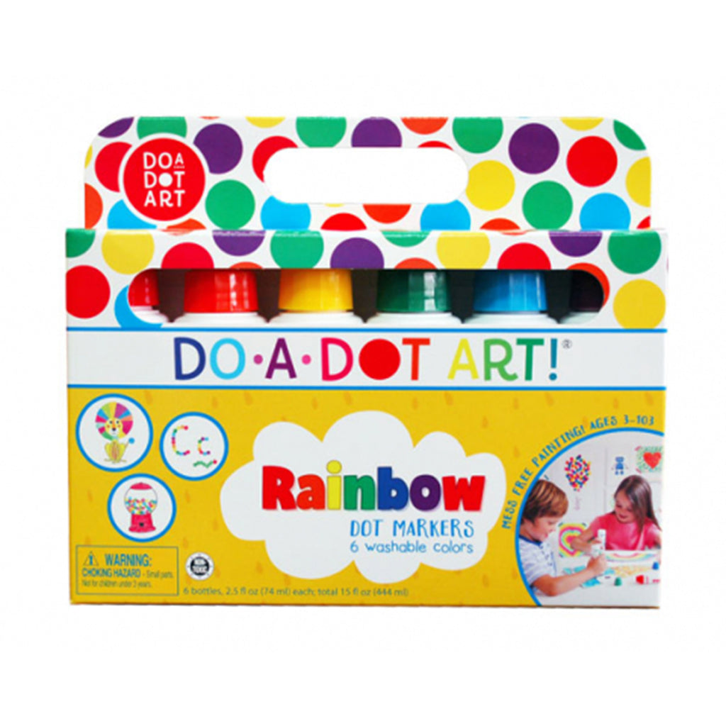DO A DOT ART Markers - Rainbow 6 Pack