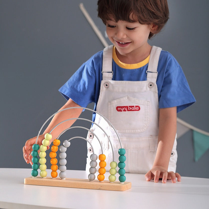 Rainbow Abacus | Two Colours Available
