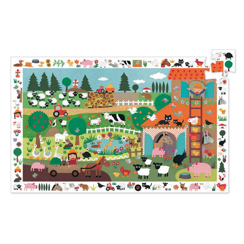 The Farm - 35pc Observation Puzzle