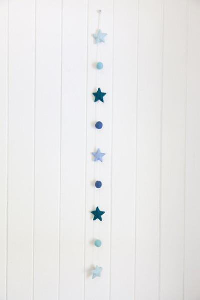 Under The Sea Garland - Ocean Stars