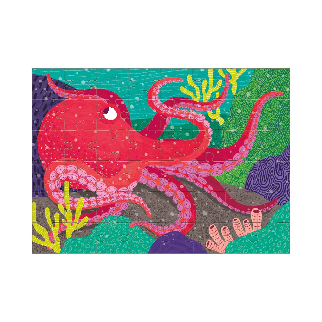Giant Pacific Octopus- 48pc Mini Puzzle