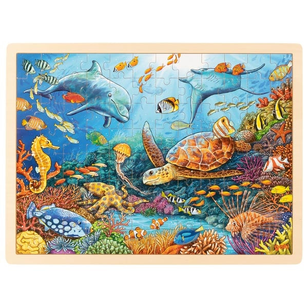 Goki Wooden Great Barrier Reef Puzzle | 96